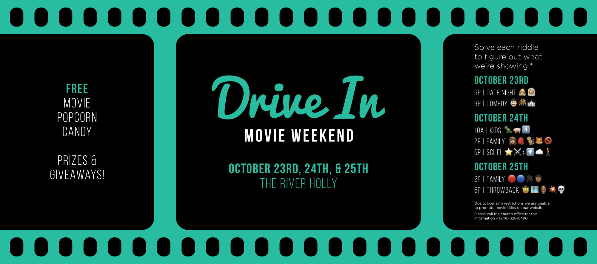 Family Drive-in Movie Night